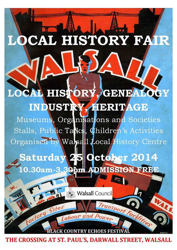 Walsall Local History Fair On Right Now Brownhillsbob 39 S Brownhills Blog